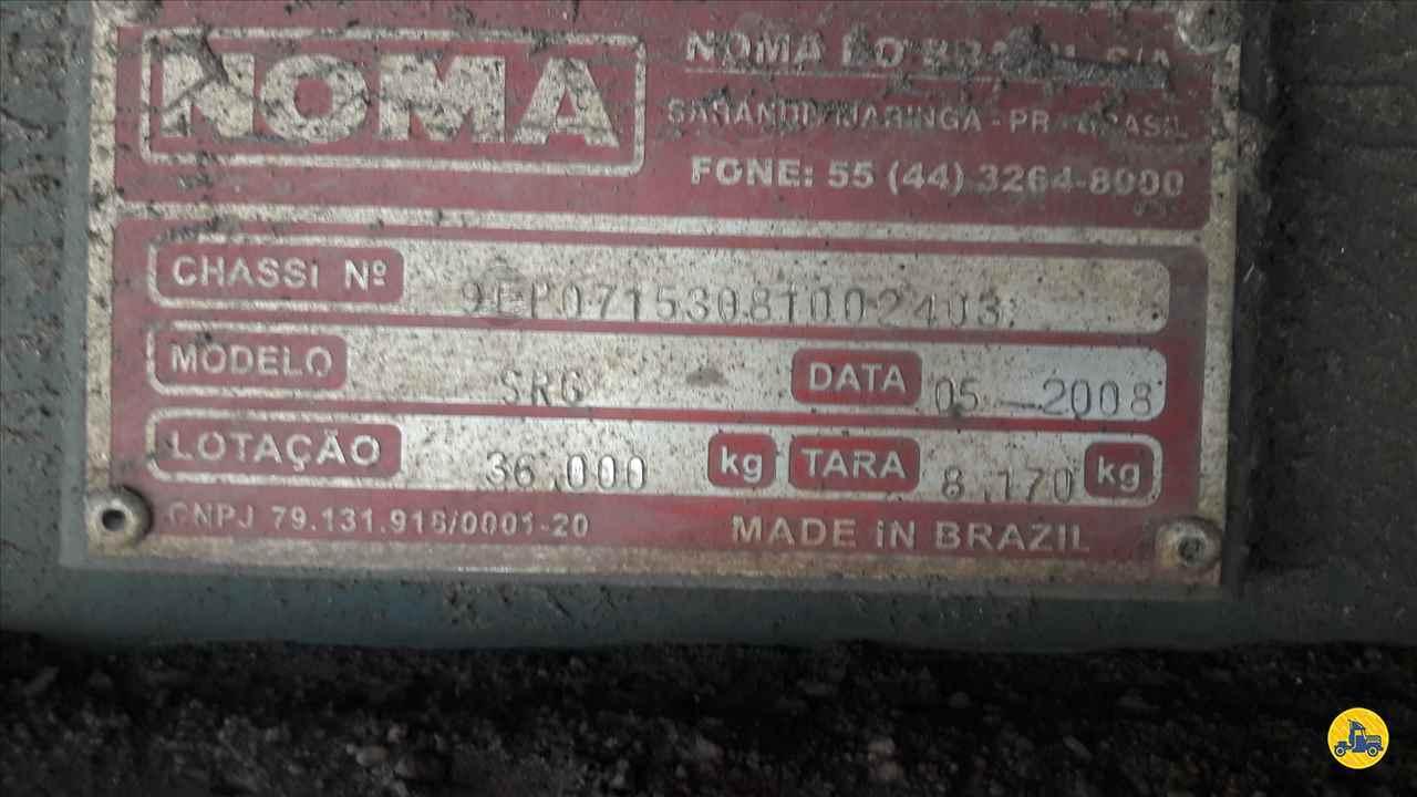 SEMI-REBOQUE GRANELEIRO  2008/2008 Zanon Caminhões e Implementos