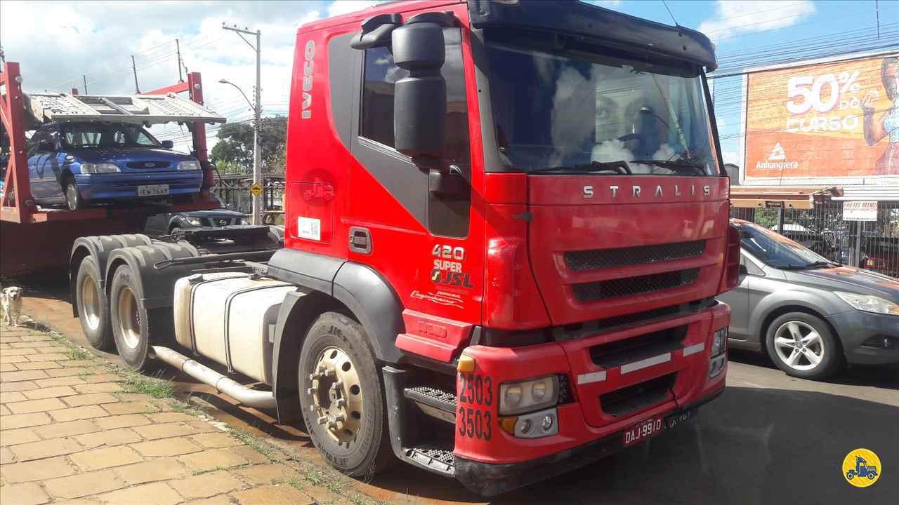 CAMINHAO IVECO STRALIS 420 Cavalo Mecânico Truck 6x2 Zanon Caminhões e Implementos PASSO FUNDO RIO GRANDE DO SUL RS