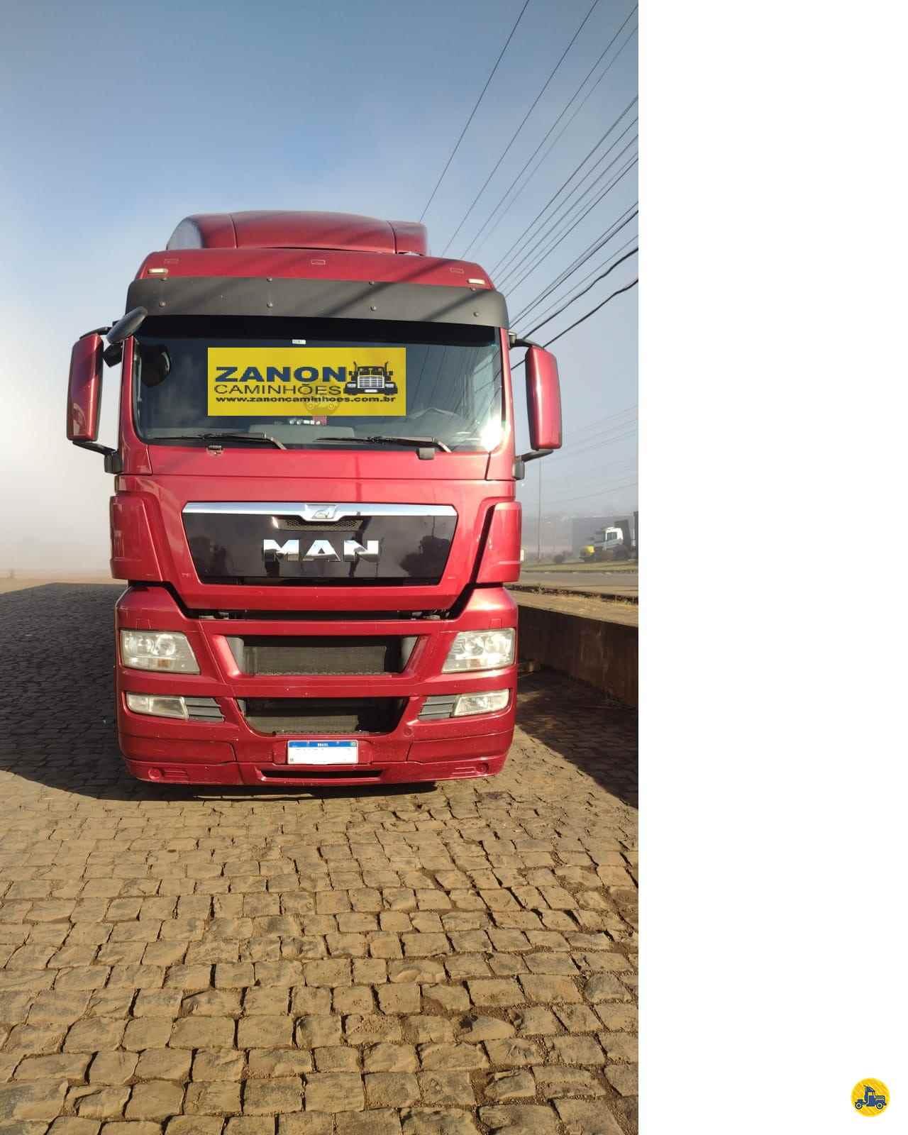 CAMINHAO MAN TGX 28 440 Cavalo Mecânico Truck 6x2 Zanon Caminhões e Implementos PASSO FUNDO RIO GRANDE DO SUL RS