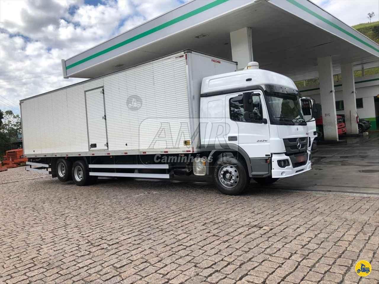 CAMINHAO MERCEDES-BENZ MB 2426 Baú Furgão Truck 6x2 AMR Caminhões JUNDIAI SÃO PAULO SP