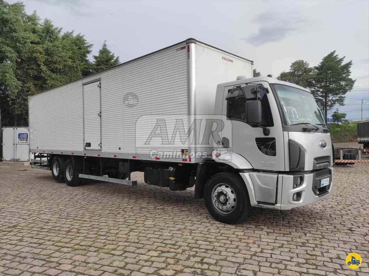 CAMINHAO FORD CARGO 2429 Baú Furgão Truck 6x2 AMR Caminhões JUNDIAI SÃO PAULO SP