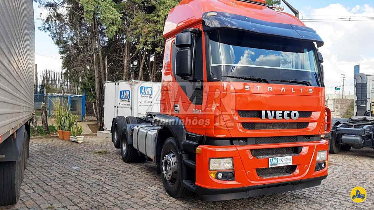 CAMINHAO IVECO STRALIS 360 Cavalo Mecânico Truck 6x2 AMR Caminhões JUNDIAI SÃO PAULO SP