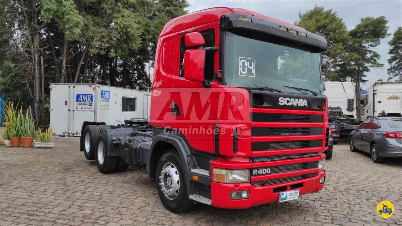 CAMINHAO SCANIA SCANIA 124 400 Cavalo Mecânico Truck 6x2 AMR Caminhões JUNDIAI SÃO PAULO SP