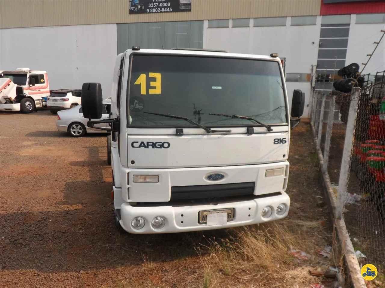 FORD CARGO 816 276000km 2013/2013 Maracavel Londrina Caminhões