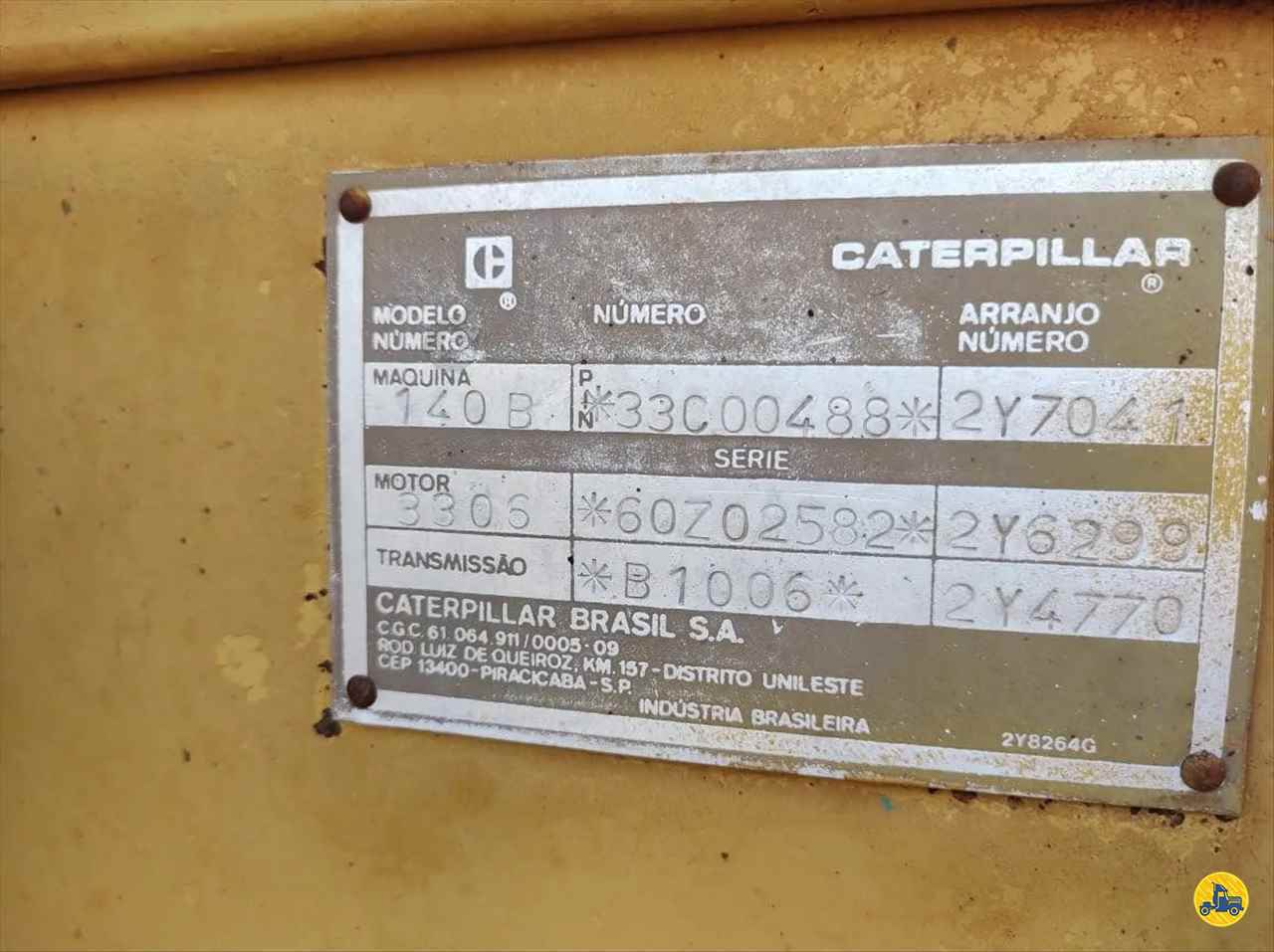 CATERPILLAR 140B  1989/1989 Maracavel Londrina Caminhões