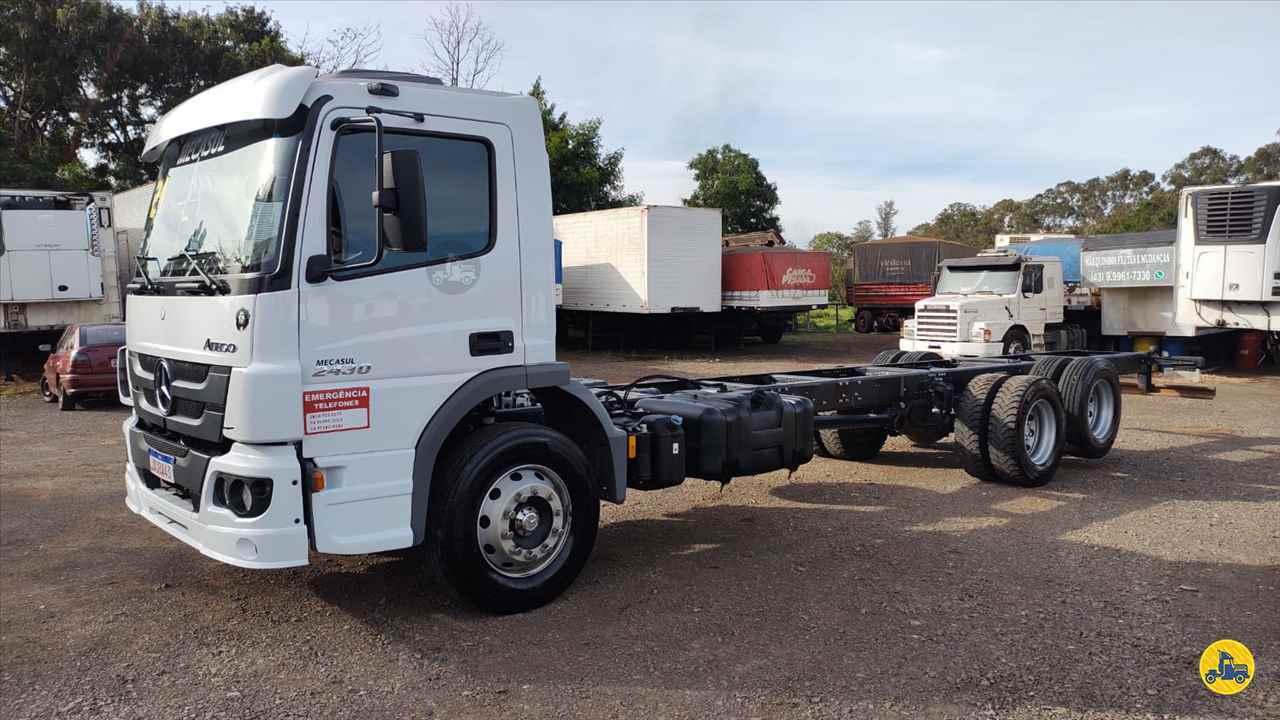 CAMINHAO MERCEDES-BENZ MB 2430 Chassis Truck 6x2 Maracavel Londrina Caminhões LONDRINA PARANÁ PR