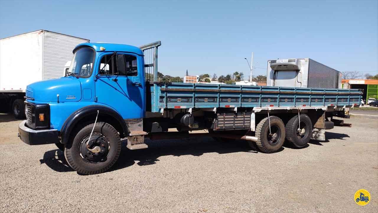 CAMINHAO MERCEDES-BENZ MB 1113 Carga Seca Truck 6x2 Maracavel Londrina Caminhões LONDRINA PARANÁ PR