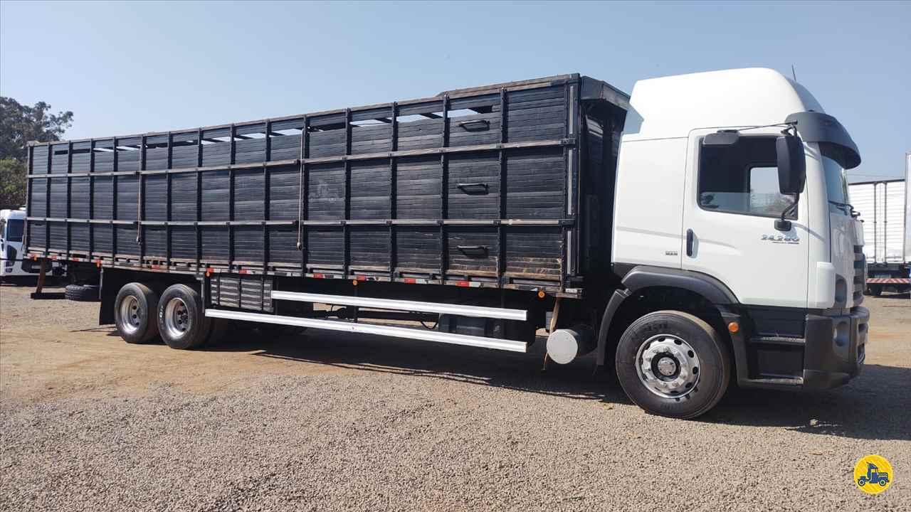 CAMINHAO VOLKSWAGEN VW 24280 Boiadeiro Truck 6x2 Maracavel Londrina Caminhões LONDRINA PARANÁ PR