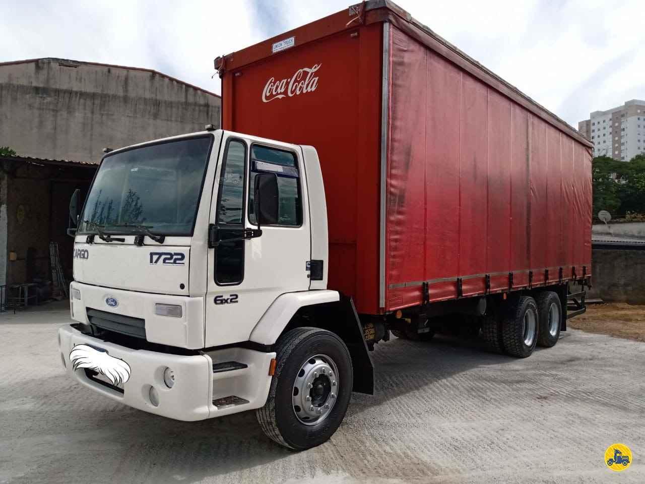 CAMINHAO FORD CARGO 1722 Chassis Truck 6x2 Maracavel Londrina Caminhões LONDRINA PARANÁ PR