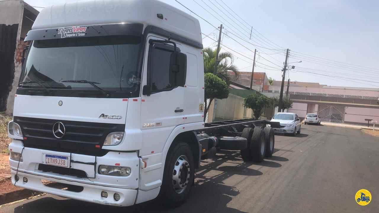CAMINHAO MERCEDES-BENZ MB 2425 Chassis Truck 6x2 Maracavel Londrina Caminhões LONDRINA PARANÁ PR