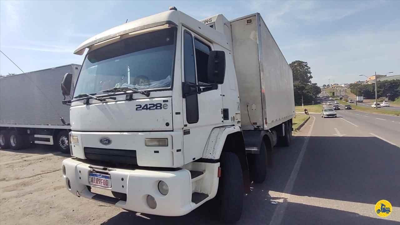 CAMINHAO FORD CARGO 2428 Baú Térmico BiTruck 8x2 Maracavel Londrina Caminhões LONDRINA PARANÁ PR