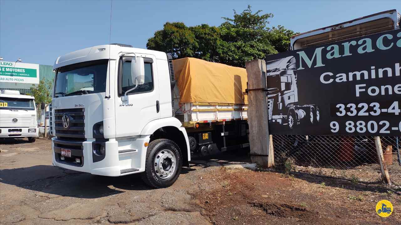 CAMINHAO VOLKSWAGEN VW 24250 Graneleiro Truck 6x2 Maracavel Londrina Caminhões LONDRINA PARANÁ PR