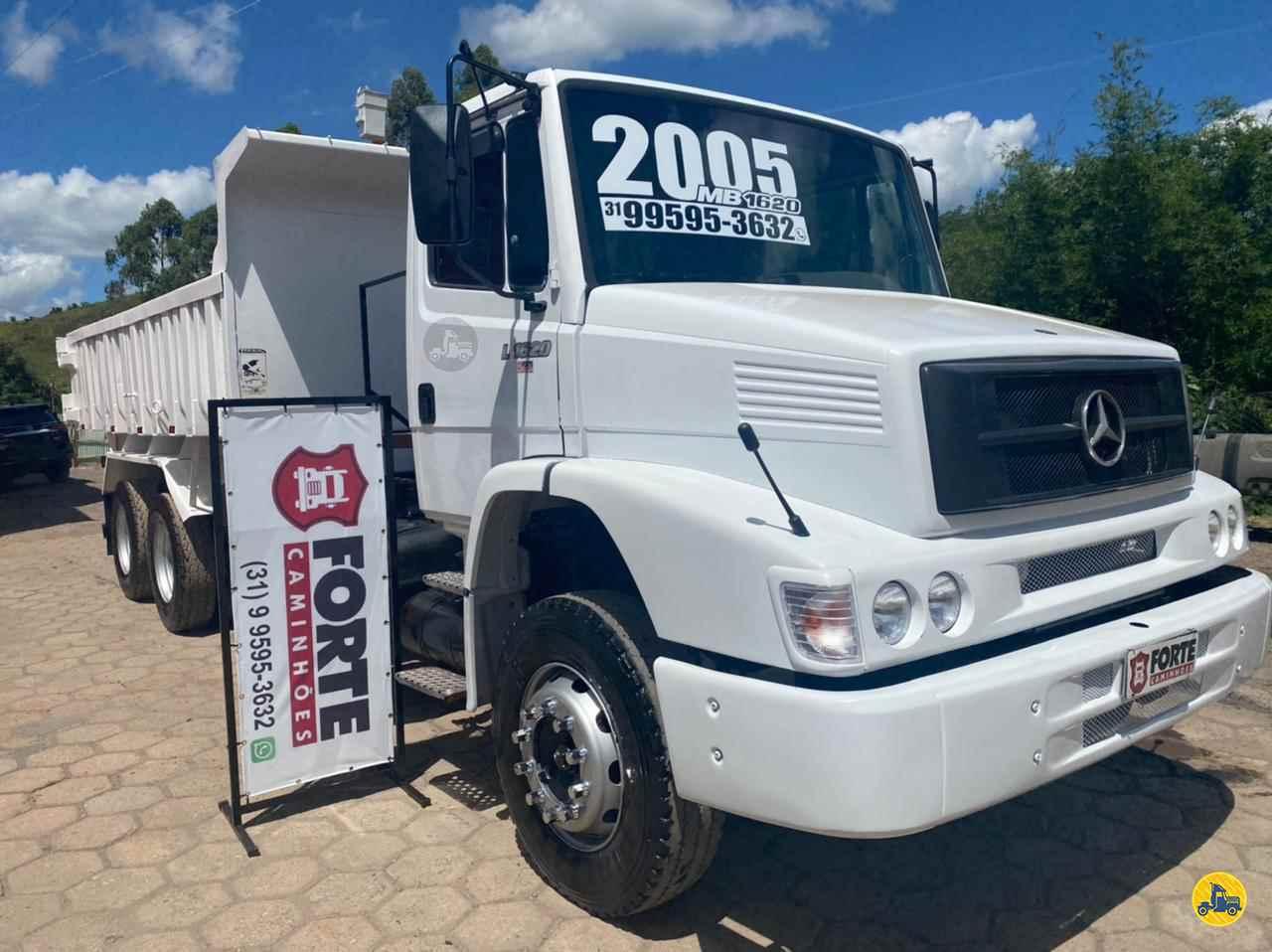CAMINHAO MERCEDES-BENZ MB 1620 Caçamba Basculante Truck 6x2 Forte Caminhões MG JOAO MONLEVADE MINAS GERAIS MG