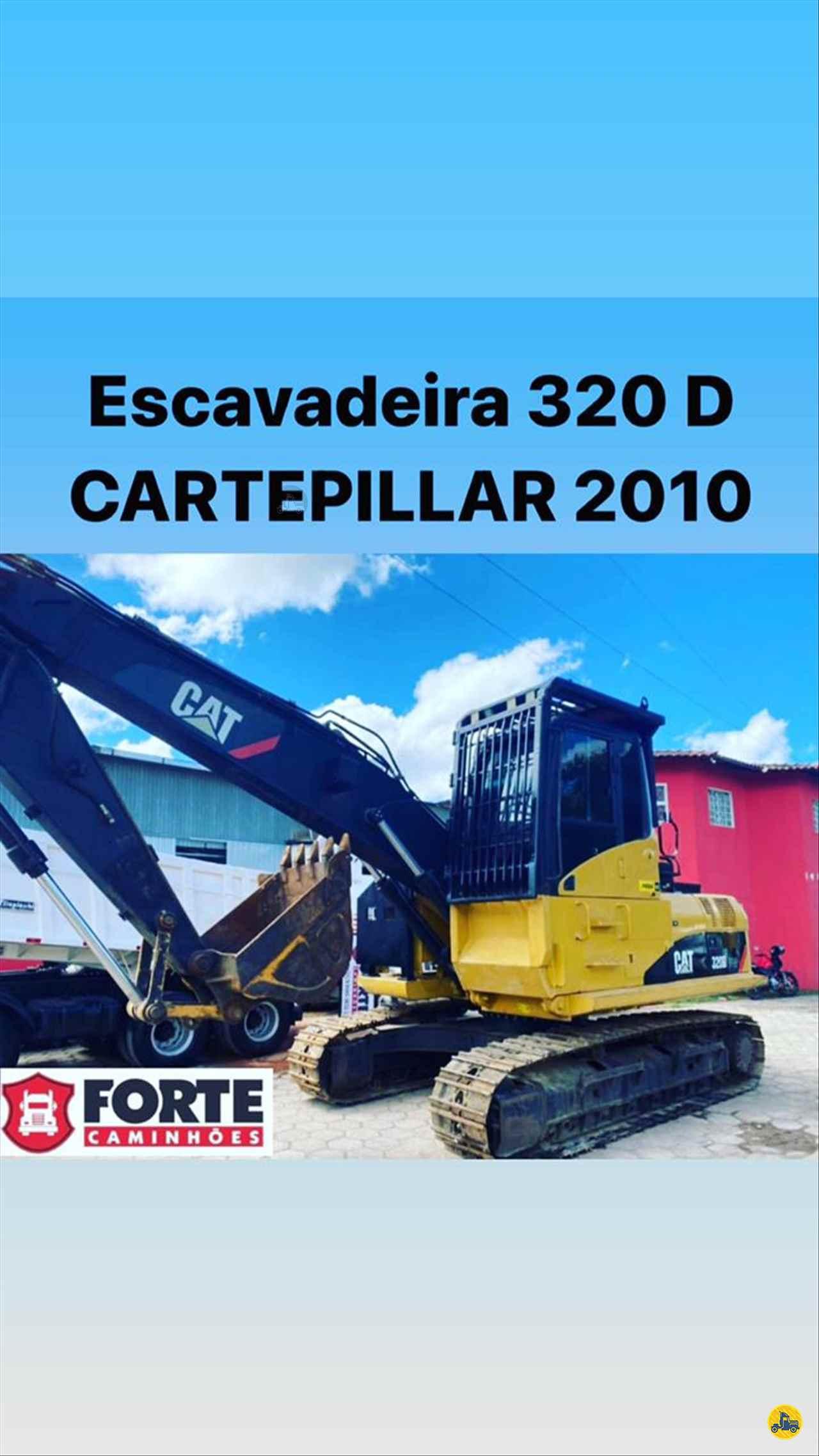 ESCAVADEIRA CATERPILLAR 320D Forte Caminhões MG JOAO MONLEVADE MINAS GERAIS MG