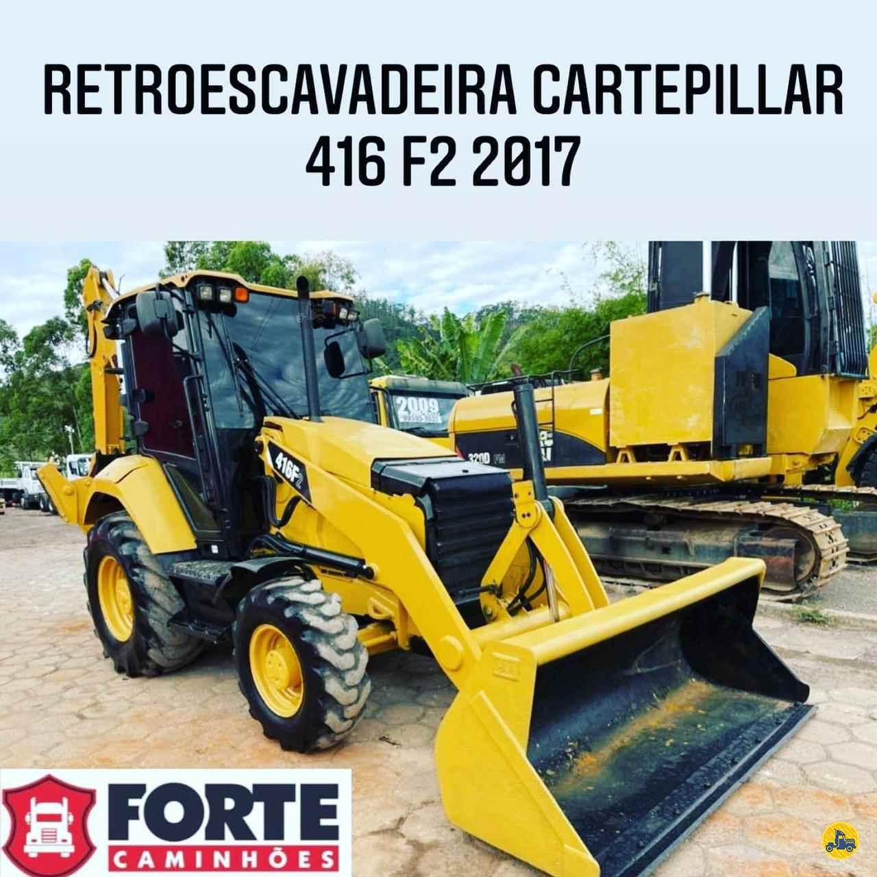 RETRO ESCAVADEIRA CATERPILLAR 416 Tração 4x4 Forte Caminhões MG JOAO MONLEVADE MINAS GERAIS MG