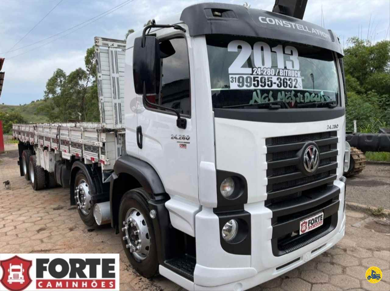 CAMINHAO VOLKSWAGEN VW 24280 Carga Seca Truck 6x2 Forte Caminhões MG JOAO MONLEVADE MINAS GERAIS MG