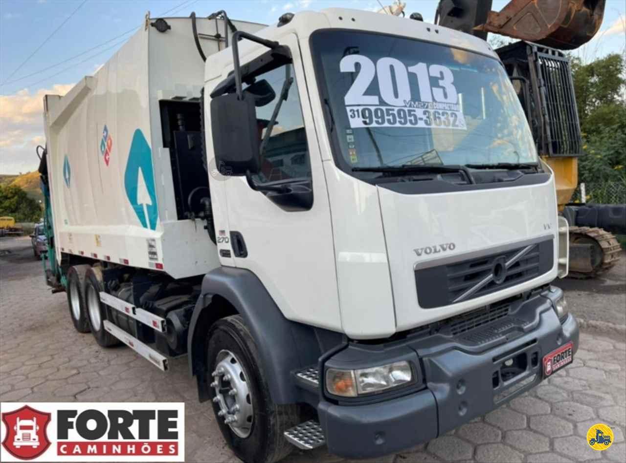 CAMINHAO VOLVO VOLVO VM 270 Coletor de Lixo Truck 6x2 Forte Caminhões MG JOAO MONLEVADE MINAS GERAIS MG