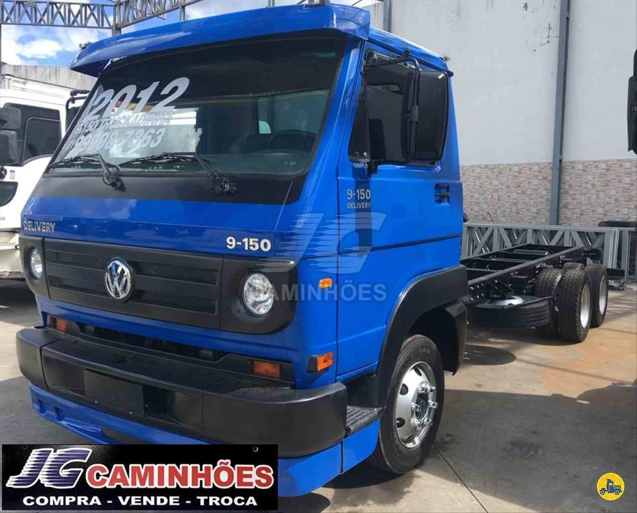 CAMINHAO VOLKSWAGEN VW 9150 Chassis 3/4 4x2 JG Caminhões JOAO MONLEVADE MINAS GERAIS MG