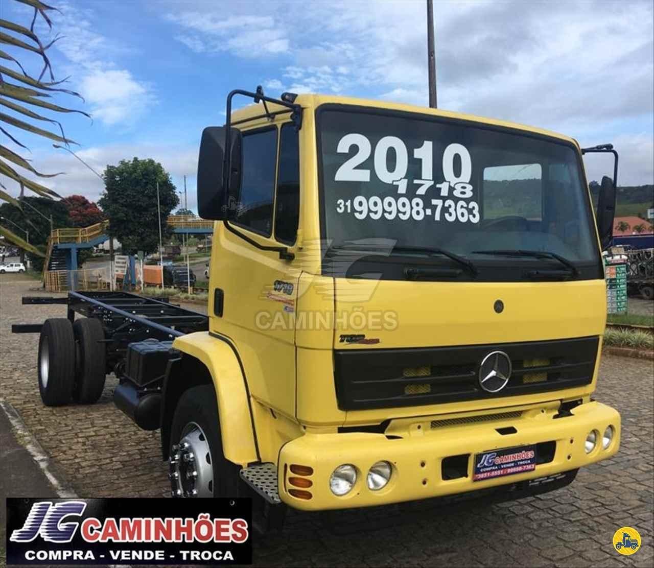 CAMINHAO MERCEDES-BENZ MB 1718 Chassis Toco 4x2 JG Caminhões JOAO MONLEVADE MINAS GERAIS MG