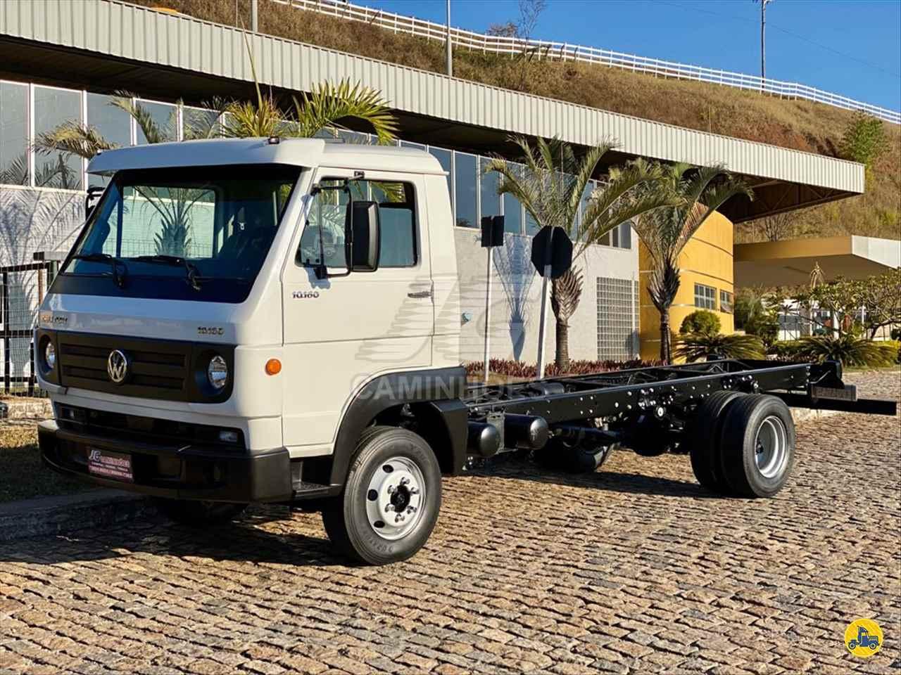 CAMINHAO VOLKSWAGEN VW 10160 Chassis 3/4 4x2 JG Caminhões JOAO MONLEVADE MINAS GERAIS MG