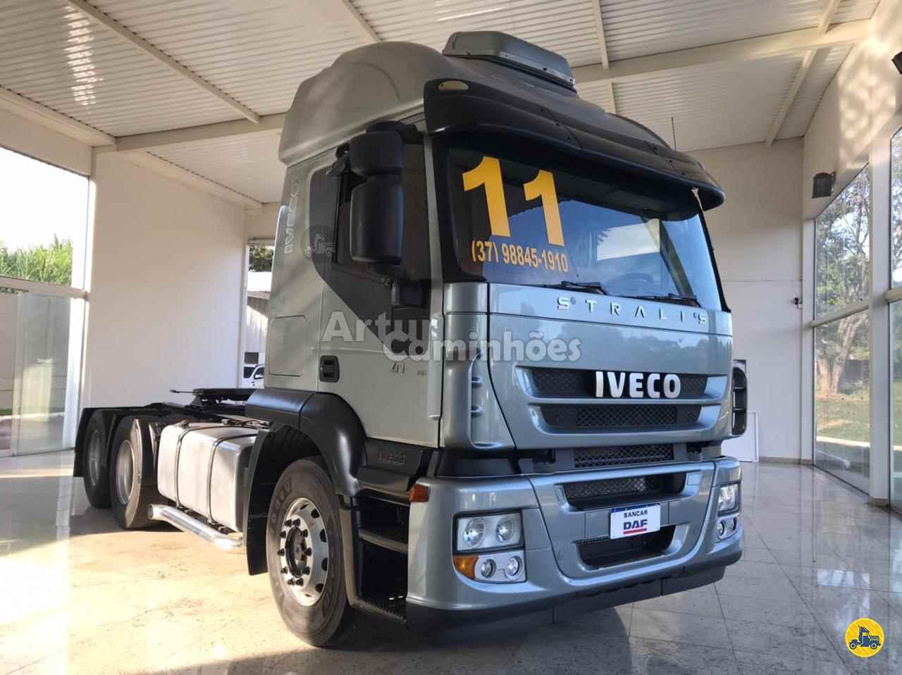 CAMINHAO IVECO STRALIS 410 Cavalo Mecânico Truck 6x2 Artur Caminhões DIVINOPOLIS MINAS GERAIS MG