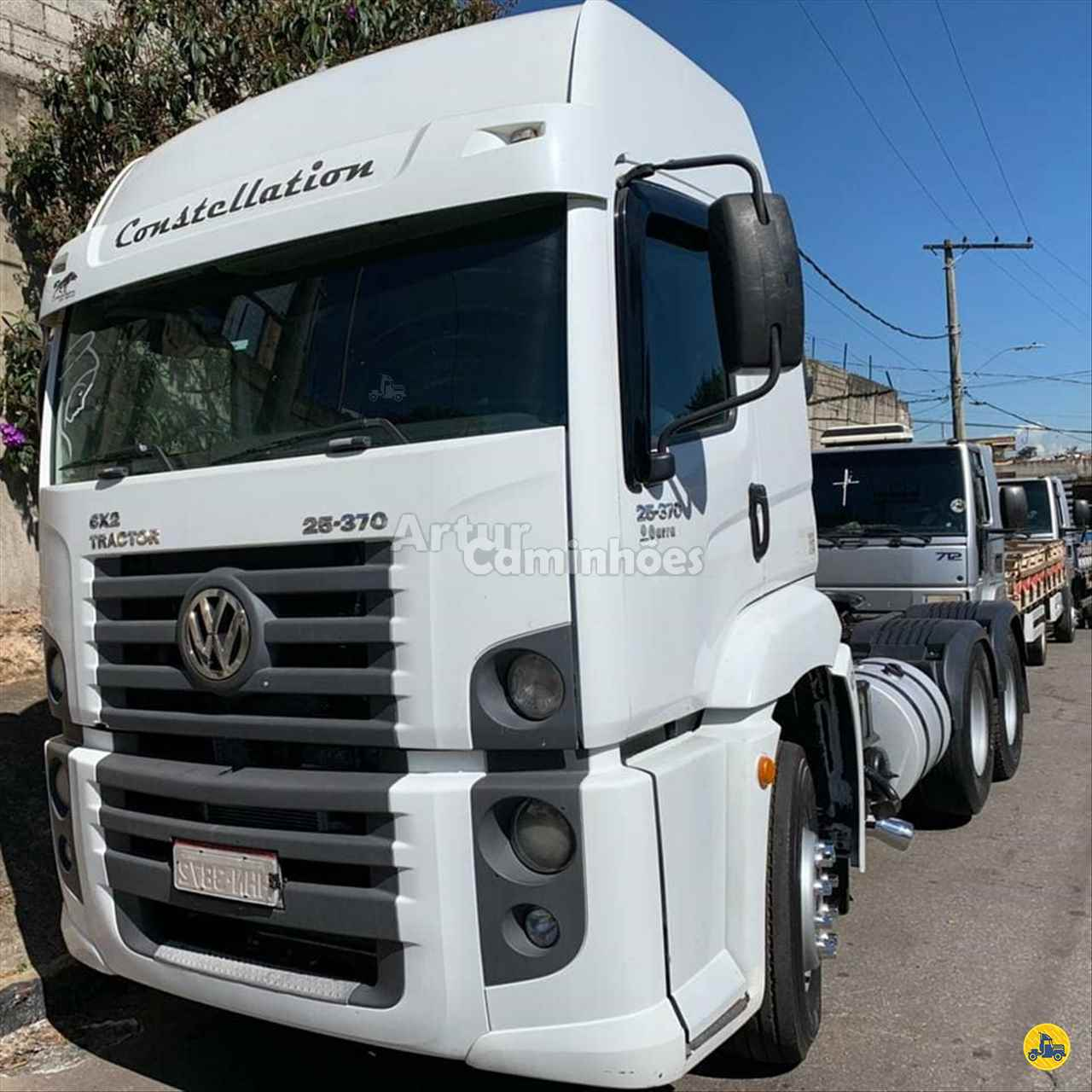 CAMINHAO VOLKSWAGEN VW 25370 Cavalo Mecânico Truck 6x2 Artur Caminhões DIVINOPOLIS MINAS GERAIS MG