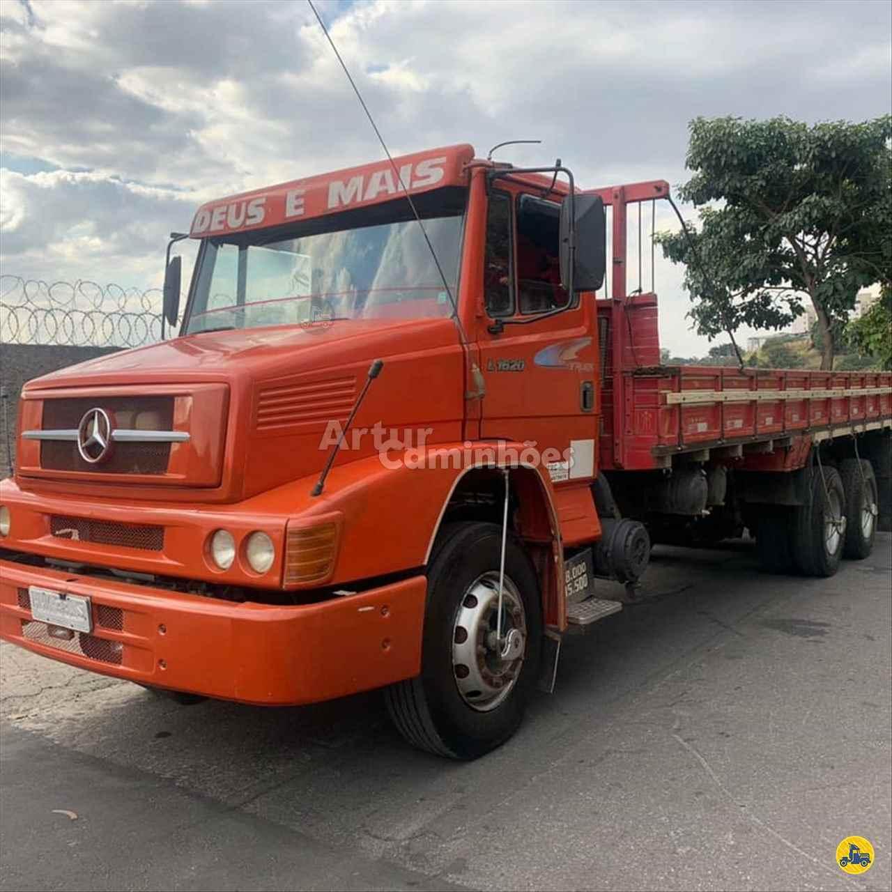 CAMINHAO MERCEDES-BENZ MB 1620 Carga Seca Truck 6x2 Artur Caminhões DIVINOPOLIS MINAS GERAIS MG