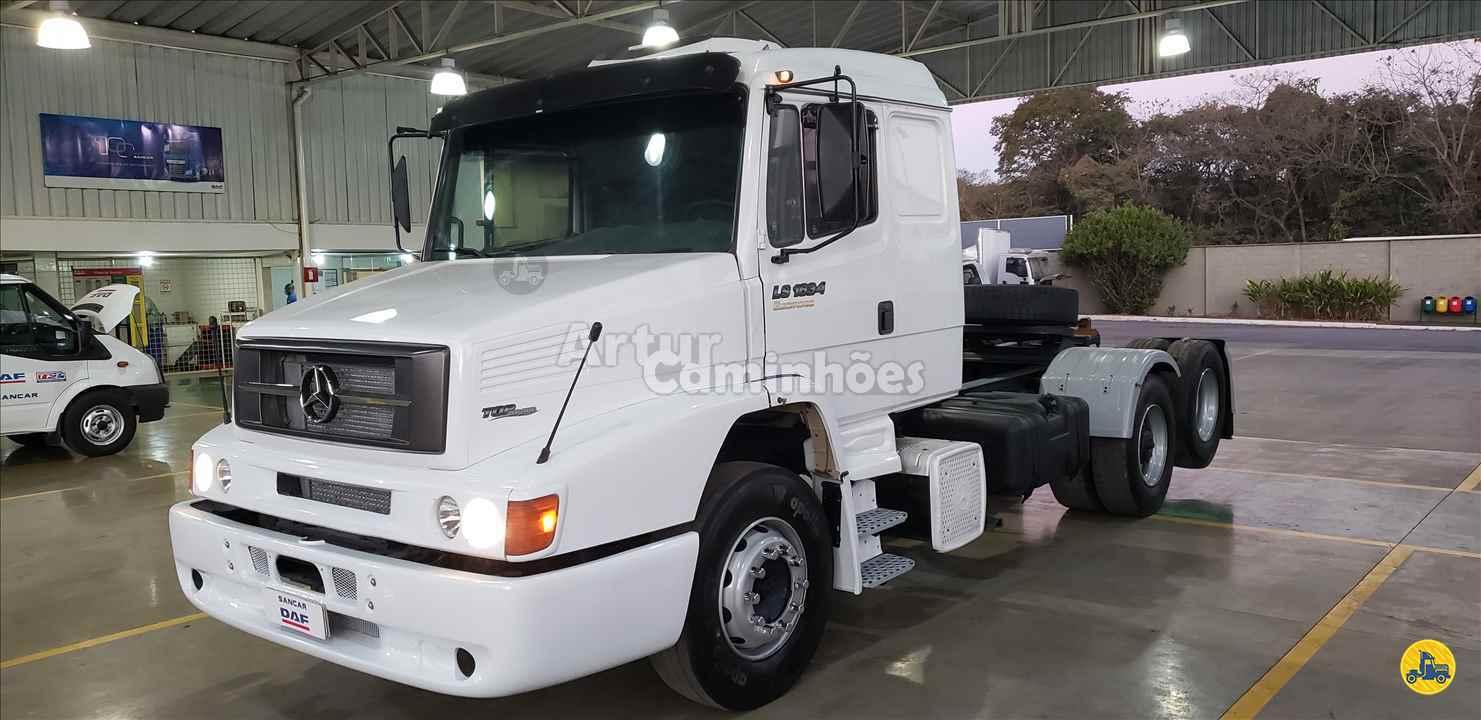 CAMINHAO MERCEDES-BENZ MB 1634 Cavalo Mecânico Truck 6x2 Artur Caminhões DIVINOPOLIS MINAS GERAIS MG