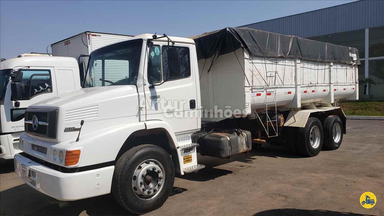 CAMINHAO MERCEDES-BENZ MB 1620 Caçamba Basculante Truck 6x2 Artur Caminhões DIVINOPOLIS MINAS GERAIS MG