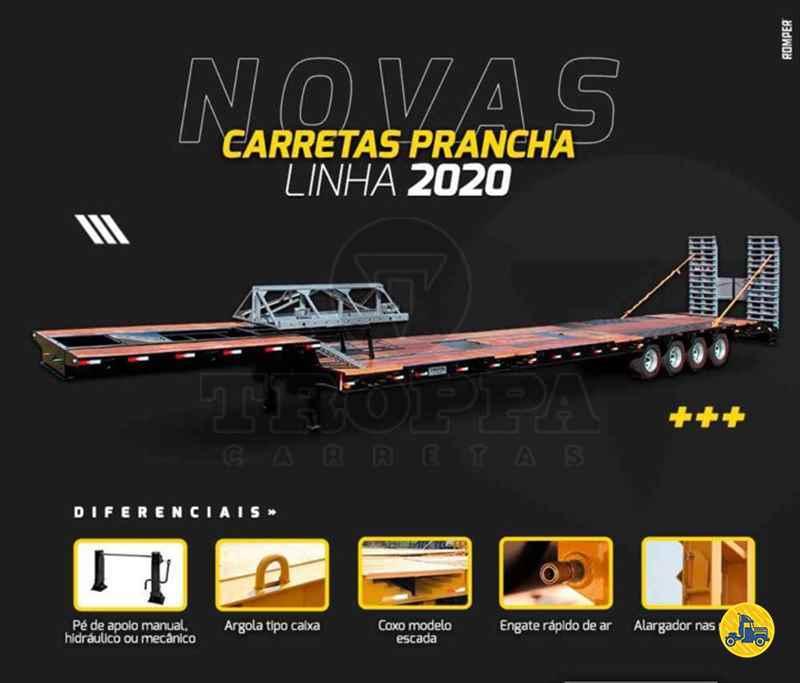 SEMI-REBOQUE PRANCHA  2021/2021 Troppa Carretas