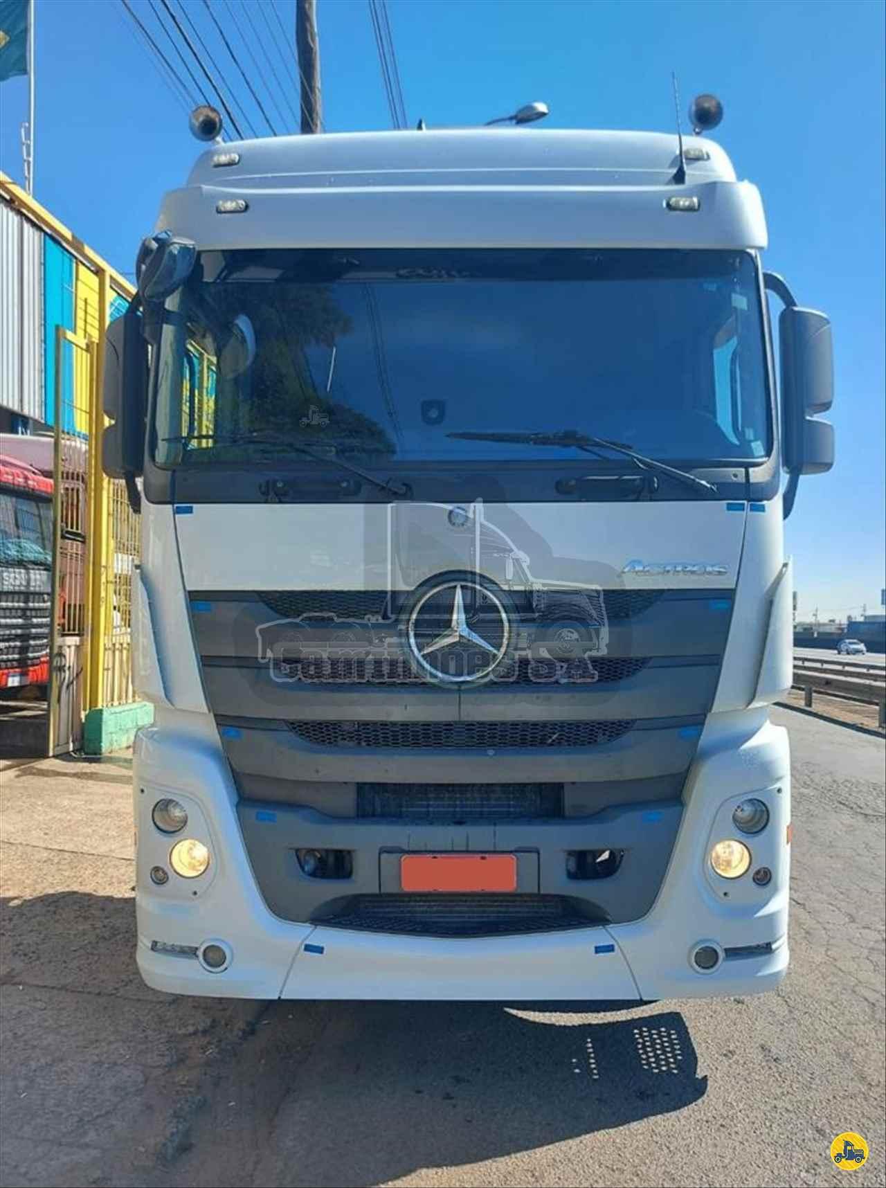 CAMINHAO MERCEDES-BENZ MB 2546 Cavalo Mecânico Truck 6x2 Caminhões SA VOTORANTIM SÃO PAULO SP