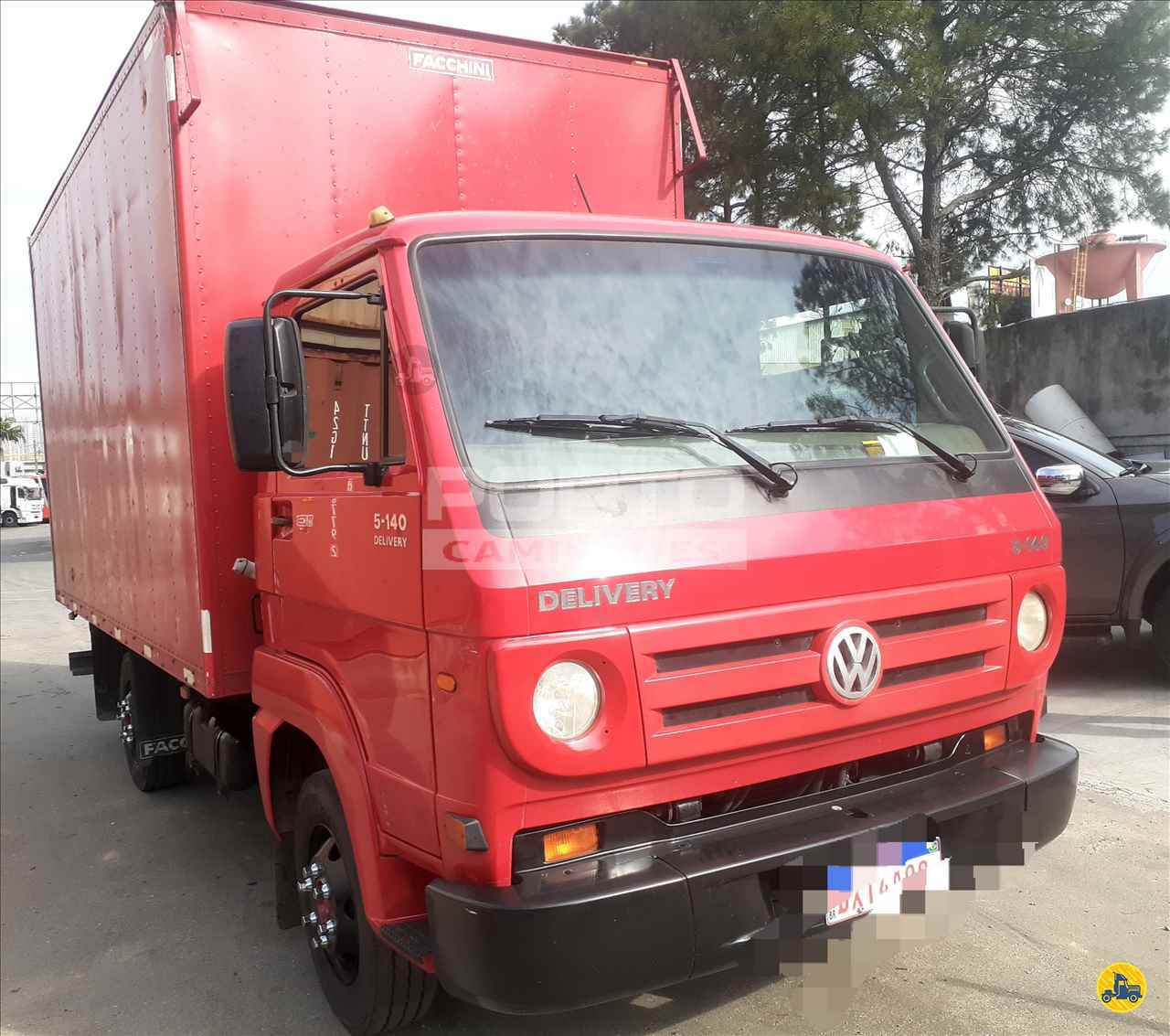 CAMINHAO VOLKSWAGEN VW 5140 Baú Furgão 3/4 4x2 Porto Caminhões GUARULHOS SÃO PAULO SP