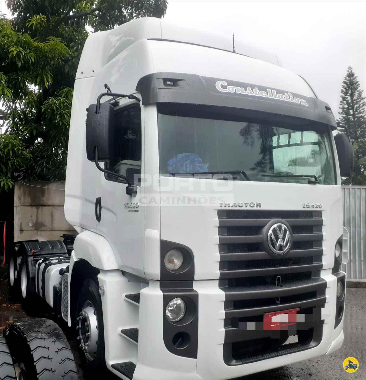 CAMINHAO VOLKSWAGEN VW 25420 Cavalo Mecânico Truck 6x2 Porto Caminhões GUARULHOS SÃO PAULO SP