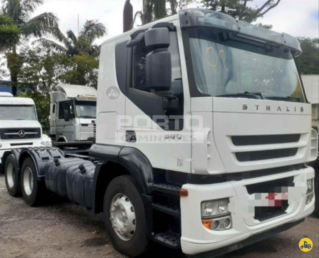 CAMINHAO IVECO STRALIS 380 Cavalo Mecânico Truck 6x2 Porto Caminhões GUARULHOS SÃO PAULO SP
