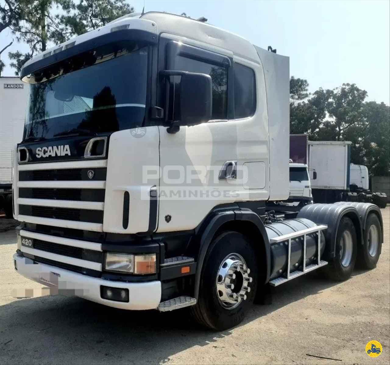 CAMINHAO SCANIA SCANIA 124 420 Cavalo Mecânico Truck 6x2 Porto Caminhões GUARULHOS SÃO PAULO SP