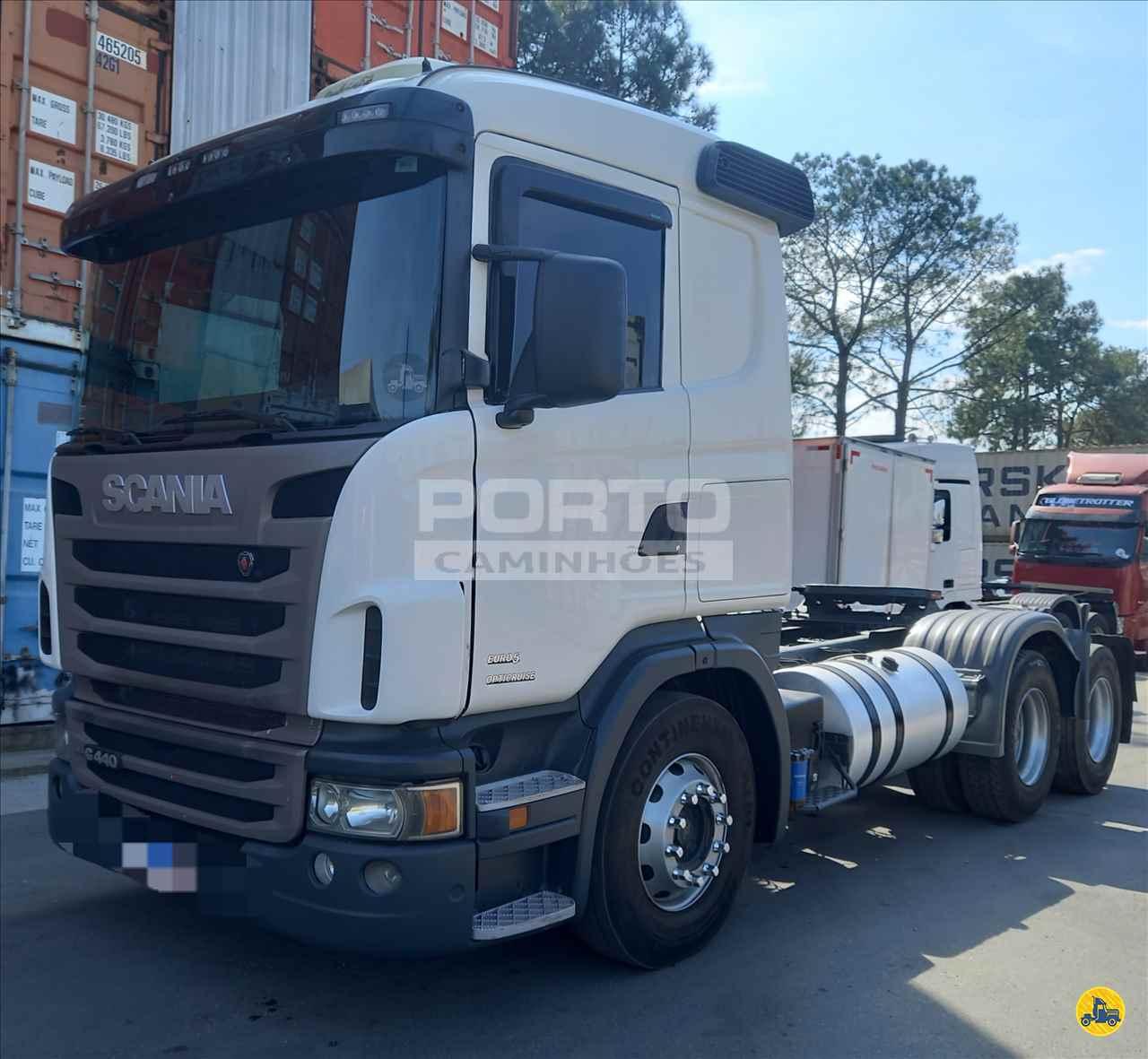 CAMINHAO SCANIA SCANIA 440 Cavalo Mecânico Truck 6x2 Porto Caminhões GUARULHOS SÃO PAULO SP