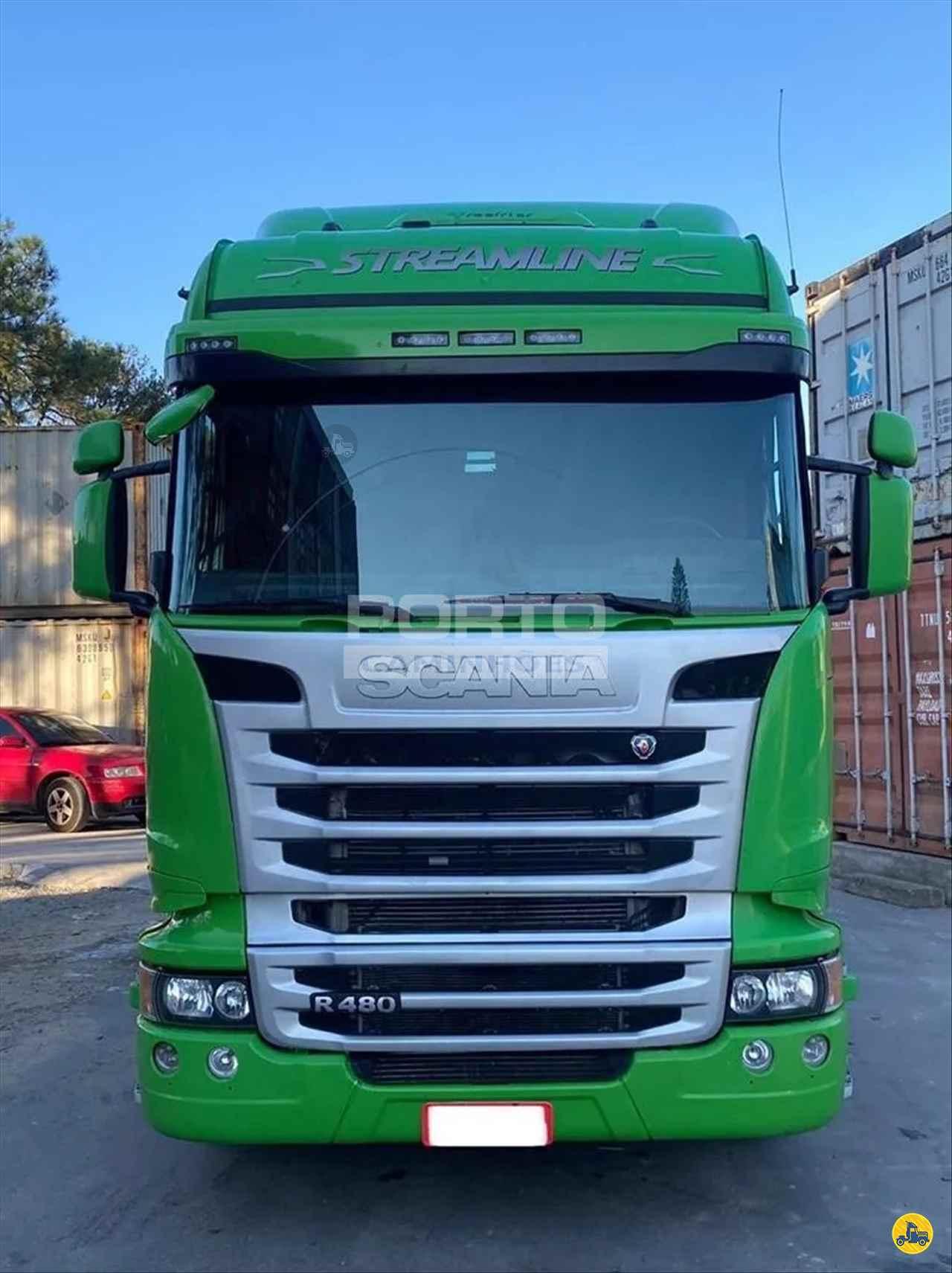 CAMINHAO SCANIA SCANIA 480 Cavalo Mecânico Truck 6x2 Porto Caminhões GUARULHOS SÃO PAULO SP