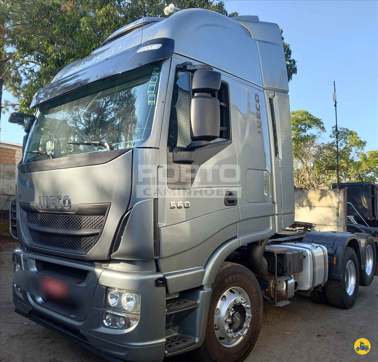 CAMINHAO IVECO STRALIS 560 Cavalo Mecânico Truck 6x2 Porto Caminhões GUARULHOS SÃO PAULO SP