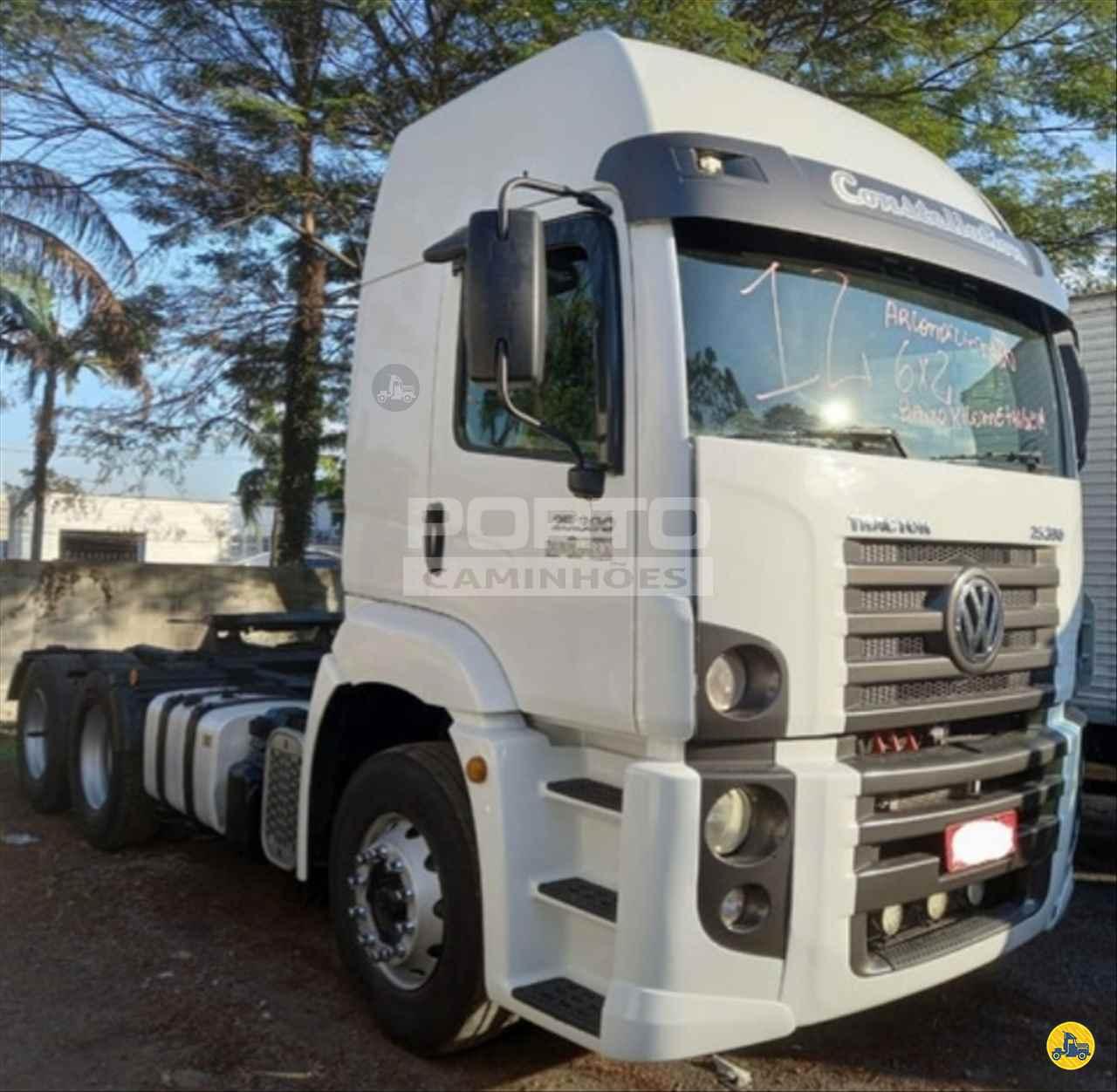 CAMINHAO VOLKSWAGEN VW 25390 Cavalo Mecânico Truck 6x2 Porto Caminhões GUARULHOS SÃO PAULO SP