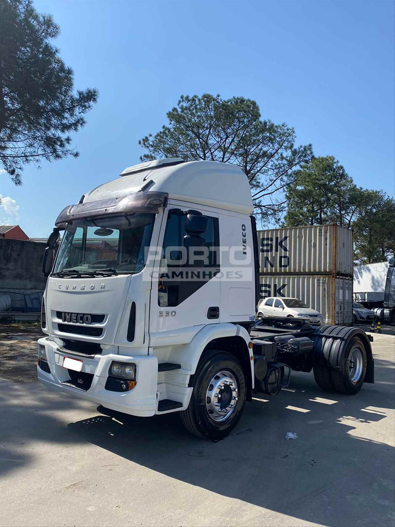 CAMINHAO IVECO CURSOR 450E33 Cavalo Mecânico Toco 4x2 Porto Caminhões GUARULHOS SÃO PAULO SP