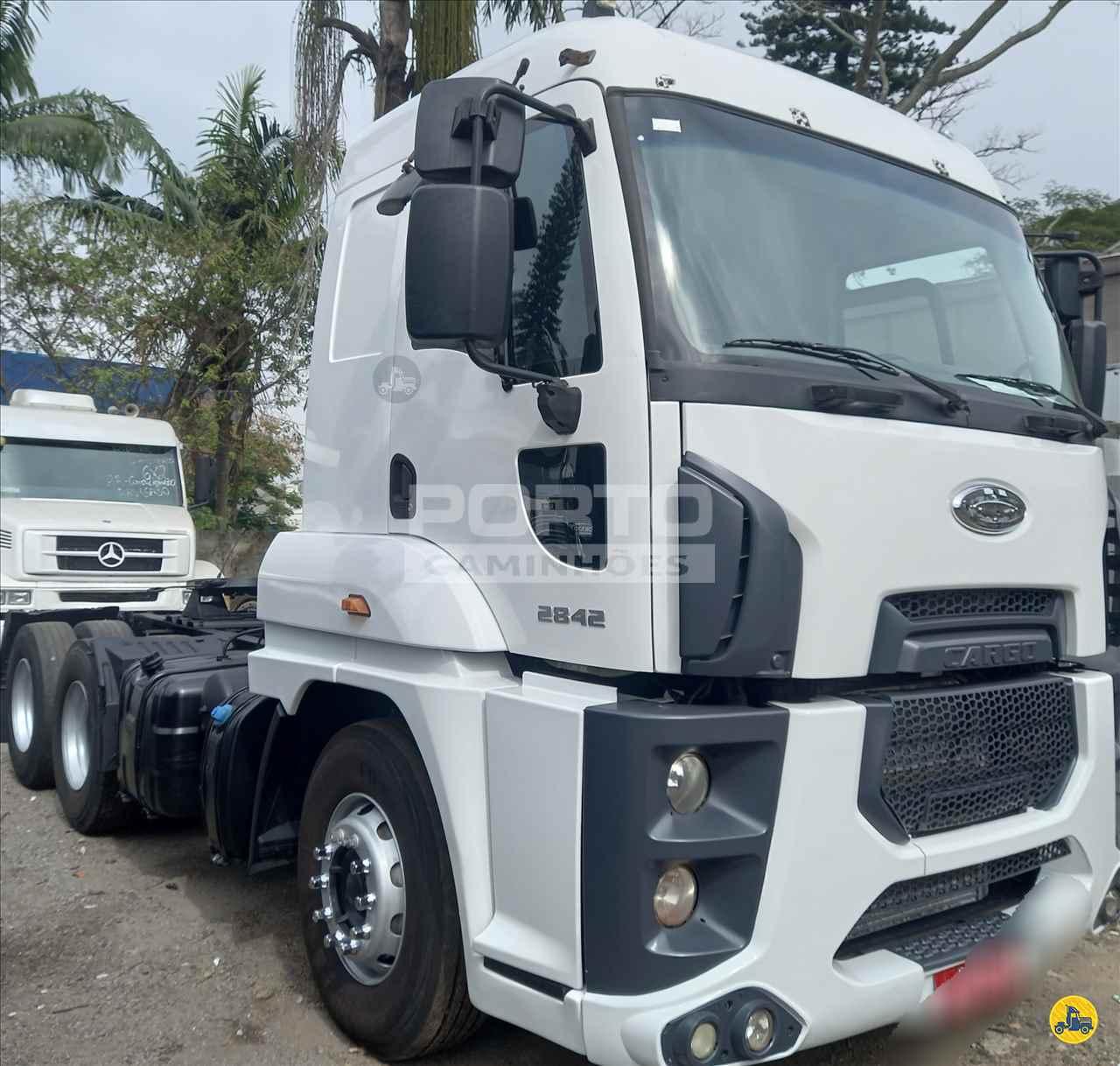 CAMINHAO FORD CARGO 2842 Cavalo Mecânico Truck 6x2 Porto Caminhões GUARULHOS SÃO PAULO SP