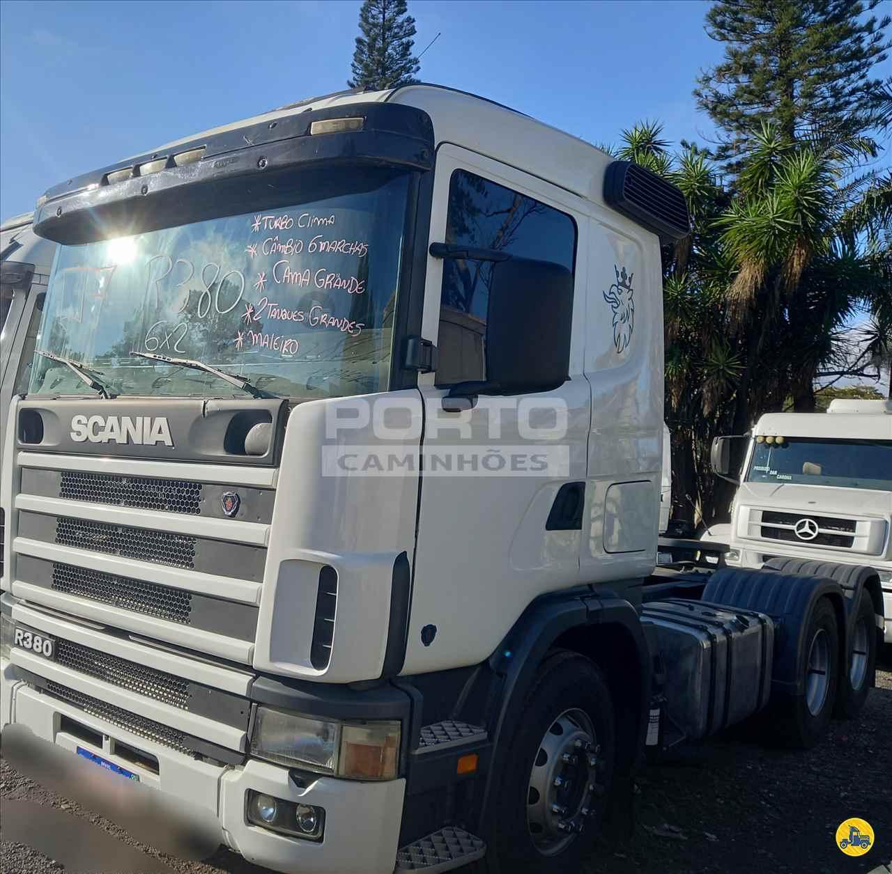 CAMINHAO SCANIA SCANIA 380 Cavalo Mecânico Truck 6x2 Porto Caminhões GUARULHOS SÃO PAULO SP