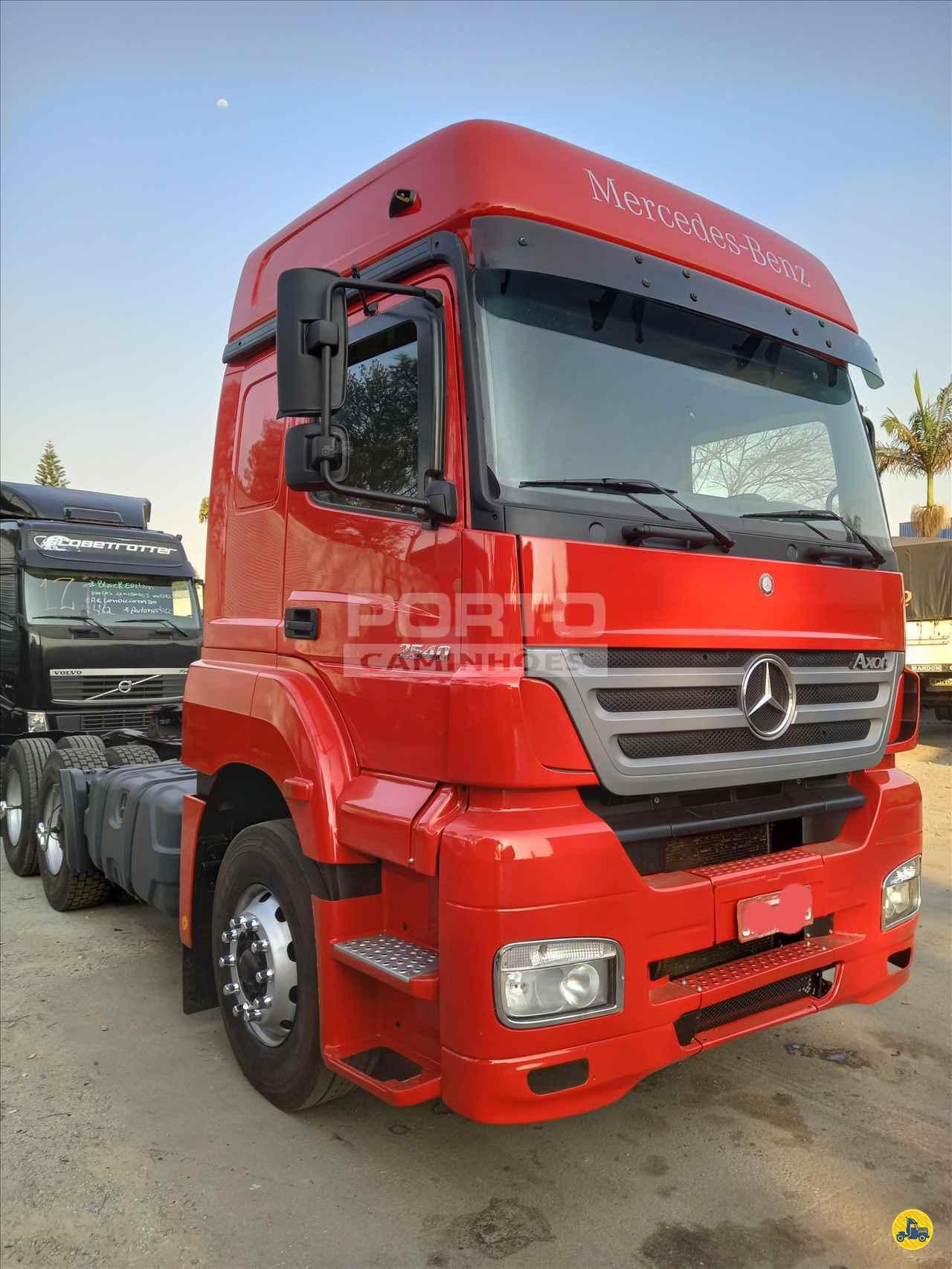 CAMINHAO MERCEDES-BENZ MB 2540 Cavalo Mecânico Truck 6x2 Porto Caminhões GUARULHOS SÃO PAULO SP