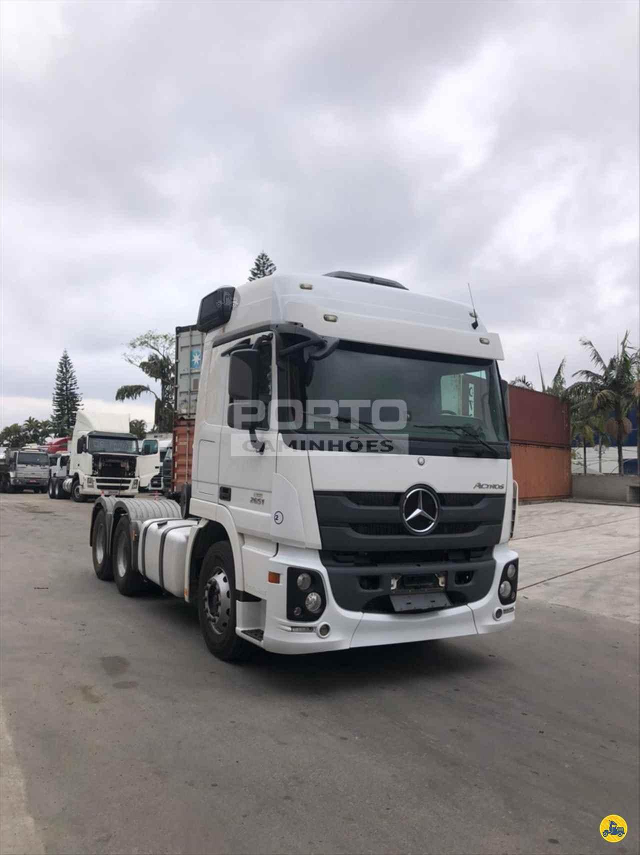 CAMINHAO MERCEDES-BENZ MB 2651 Cavalo Mecânico Traçado 6x4 Porto Caminhões GUARULHOS SÃO PAULO SP