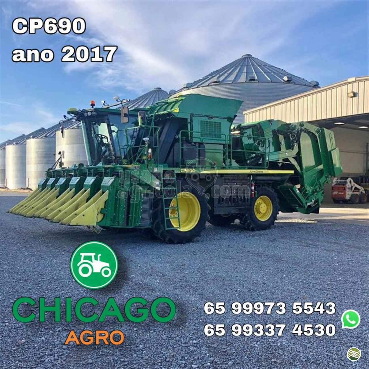 COLHEITADEIRA JOHN DEERE JOHN DEERE ALG. CP690 Usado Agricola LUCAS DO RIO VERDE MATO GROSSO MT