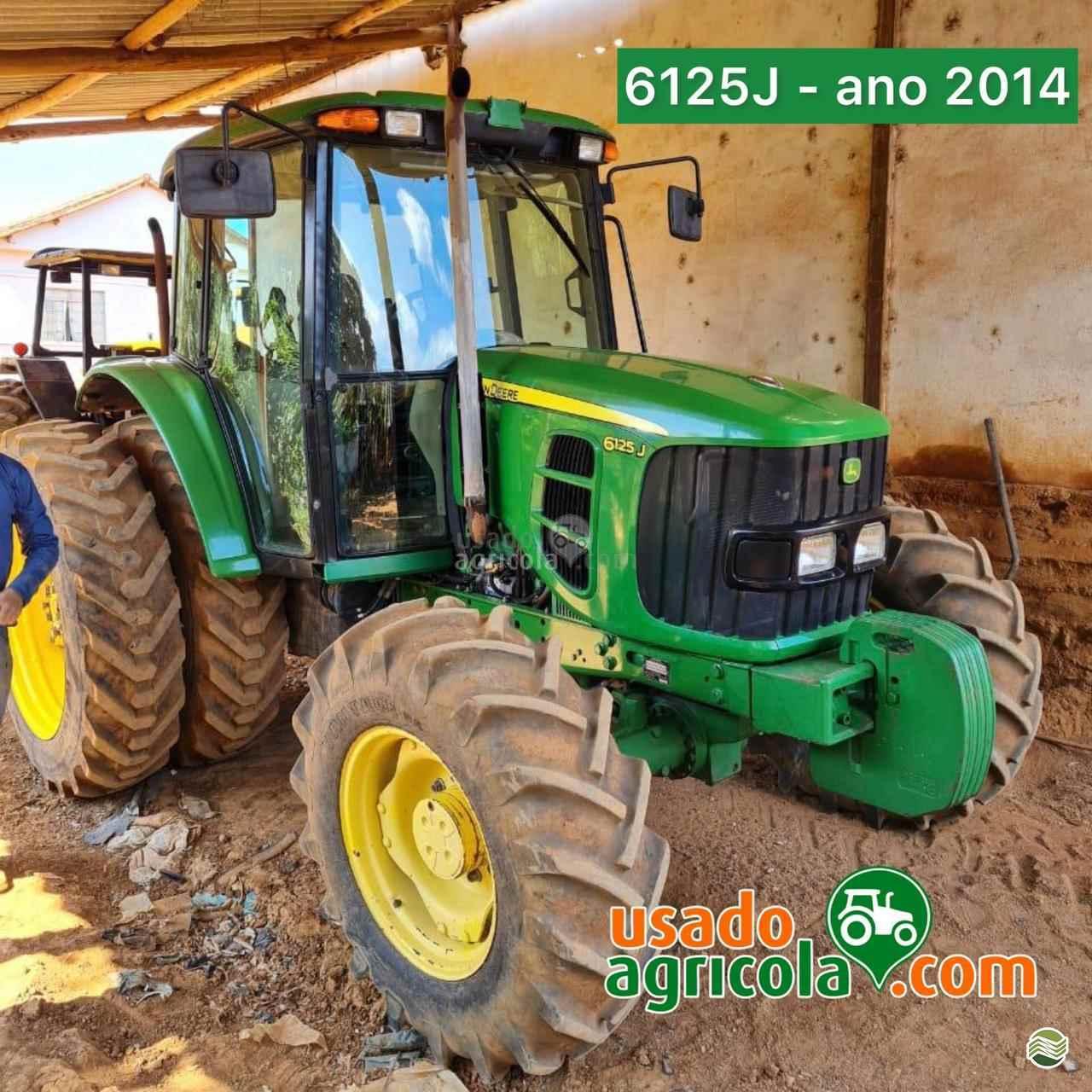 TRATOR JOHN DEERE JOHN DEERE 6125 Tração 4x4 Usado Agricola LUCAS DO RIO VERDE MATO GROSSO MT