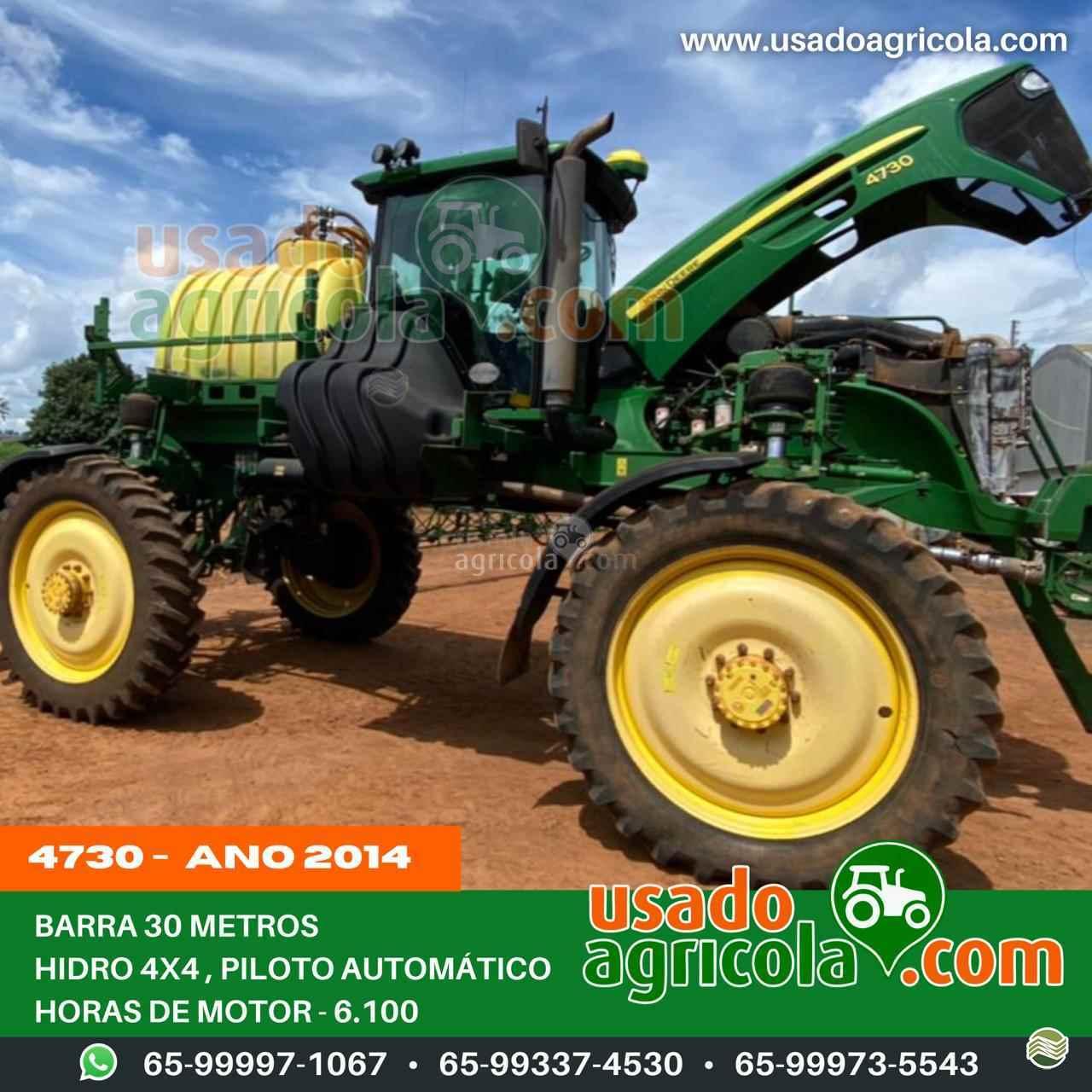 PULVERIZADOR JOHN DEERE JOHN DEERE 4730 Tração 4x4 Usado Agricola LUCAS DO RIO VERDE MATO GROSSO MT