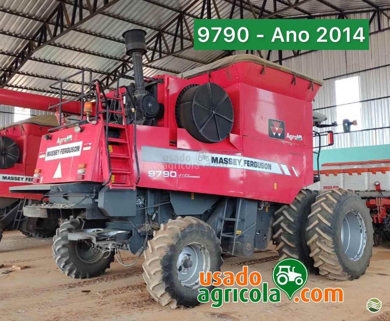 COLHEITADEIRA MASSEY FERGUSON MF 9790 Usado Agricola LUCAS DO RIO VERDE MATO GROSSO MT