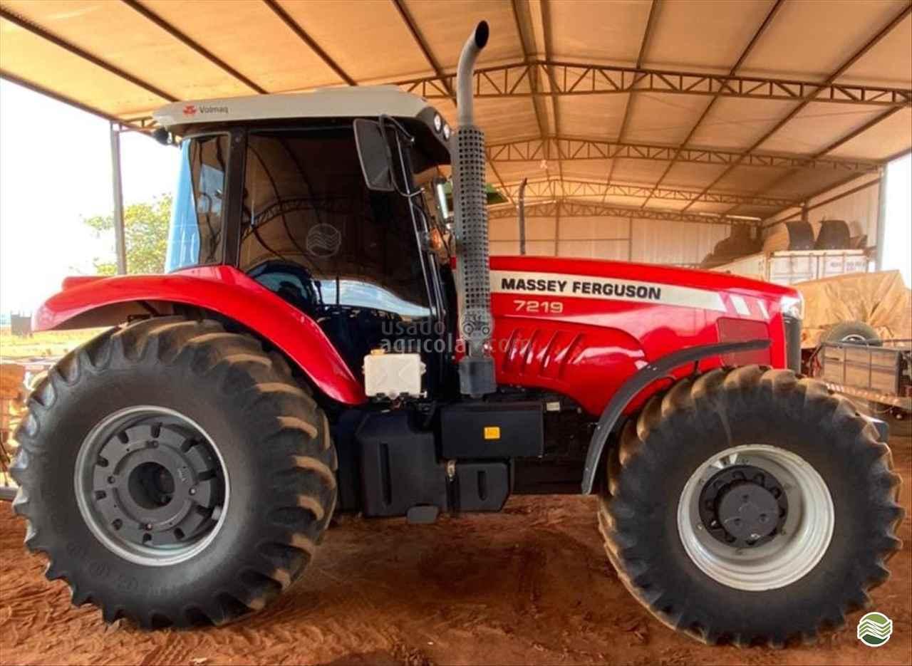 TRATOR MASSEY FERGUSON MF 7219 Tração 4x4 Usado Agricola LUCAS DO RIO VERDE MATO GROSSO MT