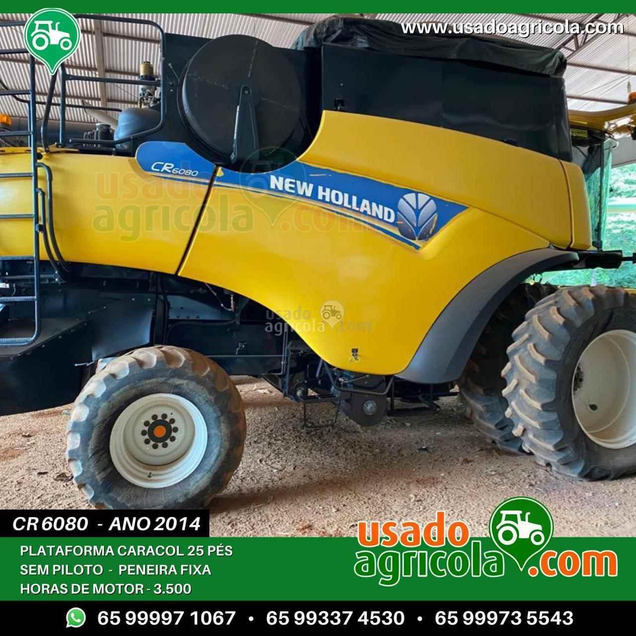 COLHEITADEIRA NEW HOLLAND CR 6080 Usado Agricola LUCAS DO RIO VERDE MATO GROSSO MT